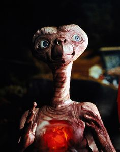 E.T. the Extra-Terrestrial...the first movie I remember ever seeing in a theater!
