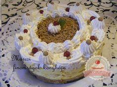 Gesztenyés torta sütés nélkül Rum, Birthday Cake, Cakes, Food, Birthday Cakes, Meal, Essen, Hoods, Pastries