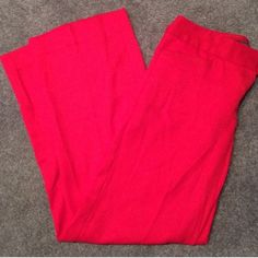 """The Limited Red Trousers Cassidy Fit- Just bought them and they're too long ☹️ I'm 5'2""""- I recommend being at least 5'5"""" in order to rock these appropriately. Great Pants With Herringbone Pattern Texture. I wish I was taller... The Limited Pants Trousers"""