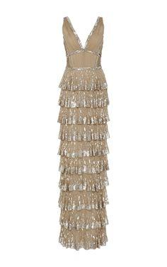Sequin Gown by J. MENDEL for Preorder on Moda Operandi