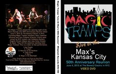 Magic Tramps DVD Front & Back Cover Courtesy Of Alan Rand & Whiplash Records 2015