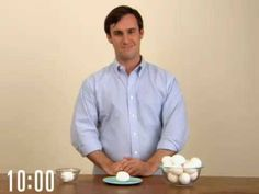 Quick-Peel An Egg - if this really works it will definitely increase my consumption of deviled eggs