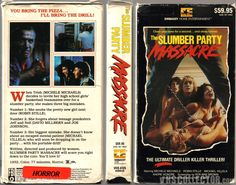 Slumber Party Massacre vhs