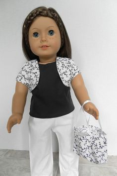 Summer Vacation Outfit  American Girl Doll  by JessicasDollCloset, $18.99