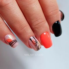 Here is the author's carefully collected acrylic creative fashion nail ideas. If you don't know how to design your own nails, you can DIY to your nails according to the nail art pictures shown in the article. Stylish Nails, Trendy Nails, Nail Art Wheel, Organic Nails, Sassy Nails, Fall Nail Art Designs, Modern Nails, Bride Nails, Shellac Nails