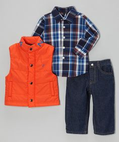 Nautica Baby Outfit.