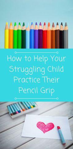 Pencil Grip Activities