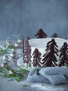 Weiße Torte mit Birne und Vanille von Zum Kaffee dazu für den SCCC 2017 mit großem Gewinnspiel! #torte #adventstorte #gewinnspiel #christmascake