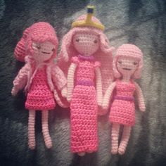 Adventure Time Army! **MORE Characters and LSP Pattern Links** - CROCHET