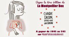 Mademoiselle A Lunettes: Concours : La Montpellier Box