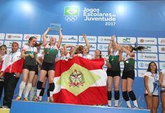 As jovens promessas catarinenses de 12 a 14 anos brilharam nesta quinta (21), no último dia dos Jogos Escolares da Juventude (JEJ), em Curitiba, e conquistaram sete de oito medalhas possíveis nos es