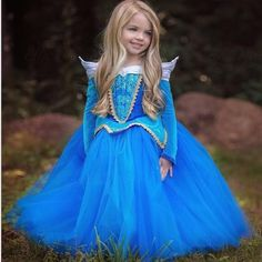 Girl Performance Dress Children Halloween Princess Kids Fancy Party Dresses Pink and Blue Girls Ball Gown Cosplay Costume party, Ropa de niña, Princess Aurora Dress, Cinderella Dresses, Princess Girl, Princess Dresses, Fantasy Princess, Princess Party, Winter Princess, Princess Sophia, Cinderella Party