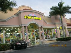 Alvin's Island was a cool place to shop on the Island!