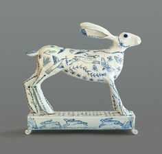 Georgina Warne, The Hare Porcelain