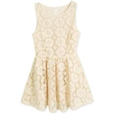 Sleeveless Round Neck Ladies White Lace Mini Dress One Size @rkd1000493w
