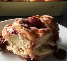 Hefeschnecken Desserts, Food, Cinnamon, Cherries, Tailgate Desserts, Deserts, Essen, Postres, Meals