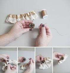 Easy Tutorial On How To Make A Wedding Garter Must See