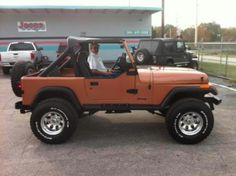 Jeep YJ. I have a white 95! I LOVE MY JEEP!!