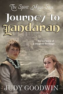 #CoverReveal: Journey to Landaran by Judy Goodwin. YA Fantasy.