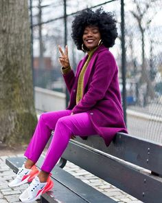 A flashback and a Happy Fab Friday to All! Colorful Outfits, Colorful Fashion, Cute Outfits, Dope Fashion, Black Women Fashion, Fashion Outfits, Womens Fashion, Petite Fashion, Fall Winter Outfits