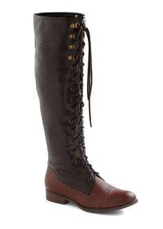 ModCloth Chocolate Craving Boot