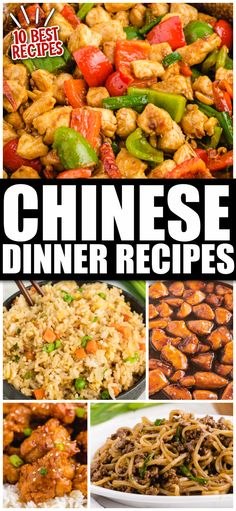 Easy Chinese Recipes, Asian Recipes, Ethnic Recipes, Rice Recipes, Chicken Recipes, Better Than Takeout Fried Rice Recipe, Chinese Dinner, Chinese Food, Best Dinner Recipes