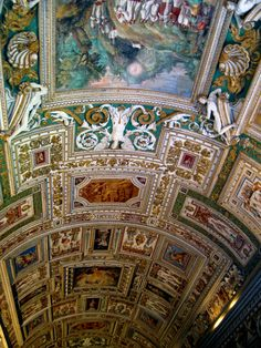 the sistine chapel   once you get to the sistine chapel the hallway narrows