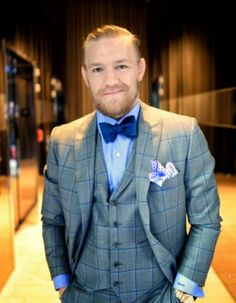 stylish, handsome Conor McGregor :   MixedMartialArts inspired fashion