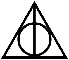 deathly hallows symbol - Google Search