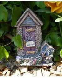 Flower fairy door