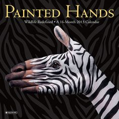 Painted Hands Calendar WHOA!  LOVE LOVE LOVE.. I'm looking for the 2013 calendars tonight.. I always get one for ev one in my family 4 stockings...