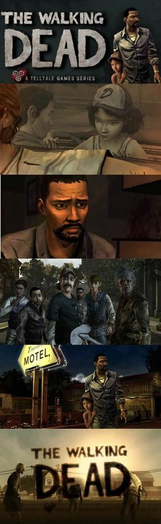 Lee and Clementine survived the zombie outbreak but they are not safe. The Walking Dead Telltale, Walking Dead Art, Walking Dead Series, Walking Dead Season, Zombie Video Games, Clementine Walking Dead, Video Game Reviews, Ps4 Games, Season 1