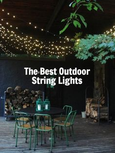 Rope Lights Menards Gorgeous Outdoor String Lights From Martha Stewart Living  Celebrations Decorating Inspiration