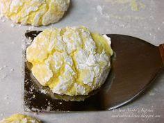 Aunt Nubby's Kitchen: Lemon Cookies