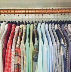 NEAT Method home organization :: a NEAT closet