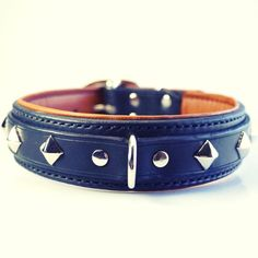 www.Vagabond-Dog.com I came across this dog accessories fabricator.   Beautiful custom work.  As a leather craftsman I appreciate some of the tooled items on their website.   Take a look. Quality handstitched leather dog collar, padded dog collar with soft lambskin lining by dieselDOGwear