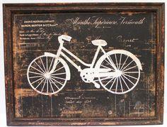 Quadros decorativos com bicicletas: inspire-se! - http://quadrosdecorativos.net/quadros-decorativos-bicicletas-inspire-se/