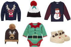 The perfect #outfits for #baby's first #Christmas!