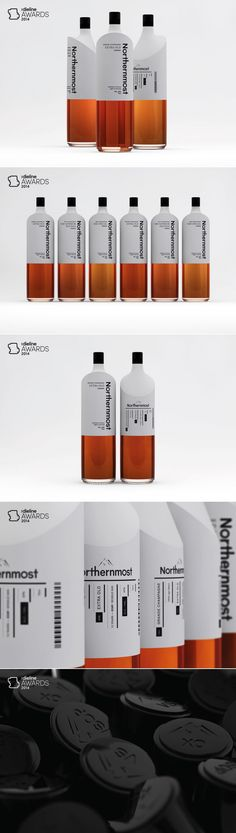 The Dieline Awards 2014: Student, 2nd Place – Northernmost Cognac — The Dieline   Packaging & Branding Design & Innovation News