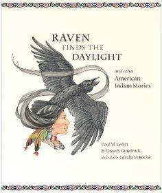 Gold medal winner for Multicultural Non-Fiction - Young Adult: 'Raven Finds the Daylight', by P. Levitt & E. S. Guralnick; illustrated by C. Roche