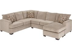 picture of Sierra View Platinum 2Pc Sectional  from Sectionals Furniture