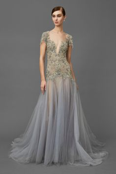 Marchesa Fall Fashion 2016, Fashion Show, Women's Fashion, Beautiful Gowns, Beautiful Outfits, Modelos Fashion, A Line Gown, Wedding Party Dresses, Couture Dresses