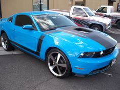 Blue Mustang, <3 ....and this is my DREAM CAR!!! :)