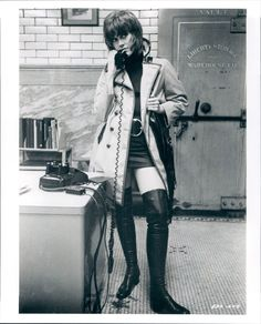 Jane Fonda in Klute. #70s #movies #icons