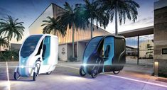 the wello is an electric tricycle powered by the sun Used Electric Cars, Electric Tricycle, Electric Scooter, Portable Tent, Cargo Bike, Automotive Design, Solar Power, Solar Panels, Las Vegas