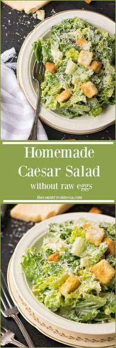 Ceasar Salad Recipe