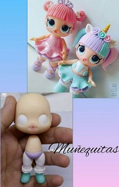 Ideas For Cake Fondant Cute Fimo Cake Topper Tutorial, Fondant Tutorial, Cake Toppers, Fondant Figures, Clay Figures, Cake Fondant, Polymer Clay Dolls, Polymer Clay Crafts, Lol Doll Cake