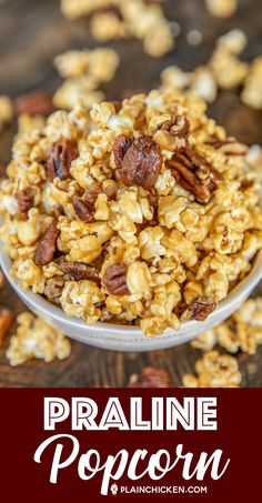 Sweet and Salty in every bite! The BEST Caramel Popcorn… Gourmet Popcorn, Popcorn Snacks, Candy Popcorn, Flavored Popcorn, Popcorn Balls, Butter Toffee Popcorn Recipe, Appetizer Recipes, Snack Recipes, Cooking Recipes