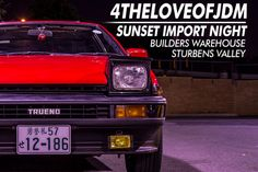 """The """"For the Love of JDM"""" hosted their second meet and greet at the Builder Warehouse Strubens valley last night, which started off with a couple of cars coming through early to catch the sunset before 7pm. With the weather looming over their heads the whole week and being unpredictable, it was a welcoming site …"""
