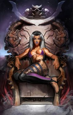 Killer Queen ~ Sindel #MortalKombat